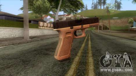 Glock 17 v1 for GTA San Andreas second screenshot