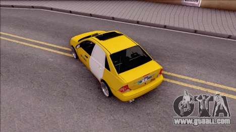 Ford Focus Mk1 Turkish Taxi for GTA San Andreas back view