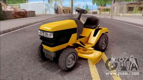 GTA V Jacksheepe Lawn Mower for GTA San Andreas