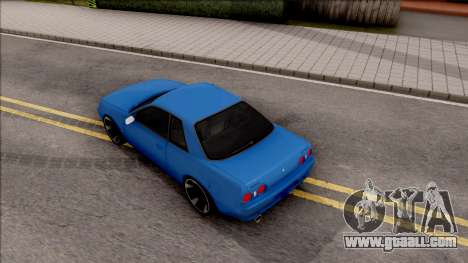 Nissan Skyline R32 for GTA San Andreas back view