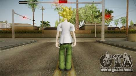 My Hero Academia - Toshinori Yagi for GTA San Andreas third screenshot