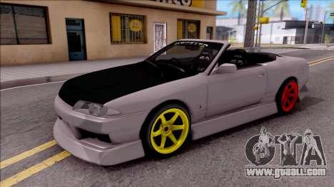 Nissan Skyline R32 Cabrio Drift Monster Energy for GTA San Andreas