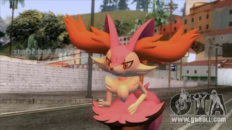 Shiny Braixen Skin for GTA San Andreas