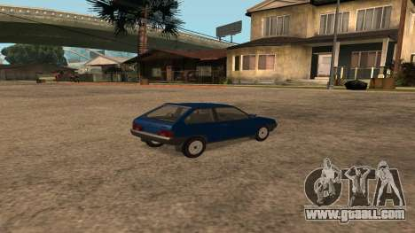 VAZ-2108 on the radio for GTA San Andreas back left view