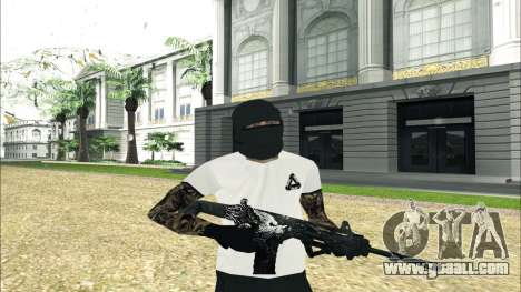 From Hell Weapon Pack for GTA San Andreas forth screenshot