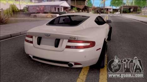 Aston Martin DB9 Drift Style - Race Handling for GTA San Andreas back left view