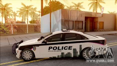 Chevrolet Caprice 2013 Los Santos PD v1 for GTA San Andreas left view