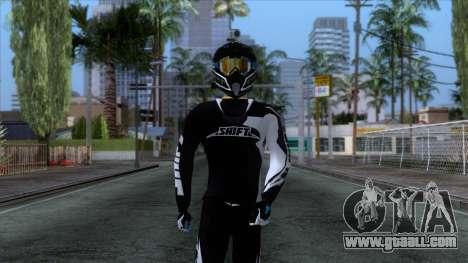 Motorcyclist Skin for GTA San Andreas