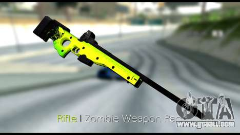 Zombie Weapon Pack for GTA San Andreas forth screenshot