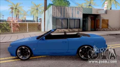 Nissan Skyline R32 Cabrio for GTA San Andreas left view
