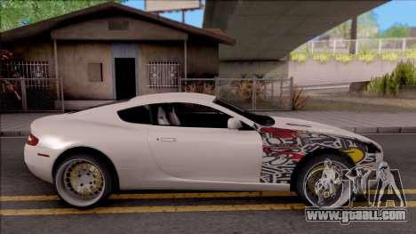 Aston Martin DB9 Drift Style - Race Handling for GTA San Andreas left view