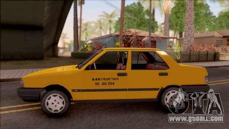 Tofas Sahin Taxi 1999 for GTA San Andreas left view