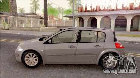 Renault Megane 2 HB Privilege for GTA San Andreas left view