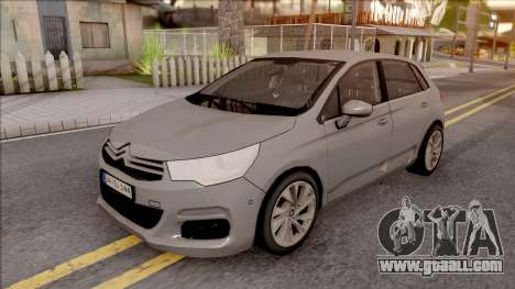 Citroen C4 2012 for GTA San Andreas