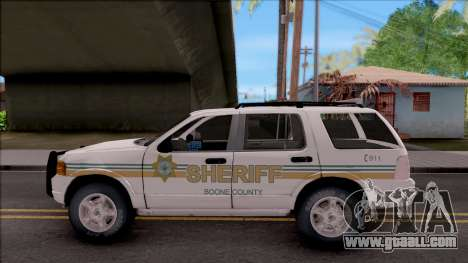 Ford Explorer 2002 Boone County Sheriff Office for GTA San Andreas