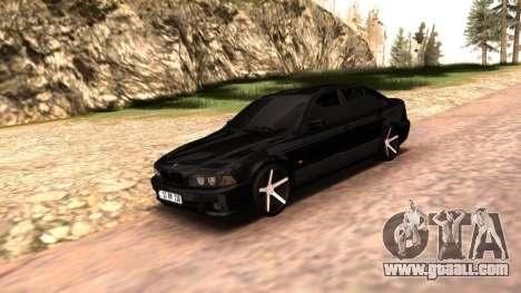 BMW E39 Armenian Vossen for GTA San Andreas right view