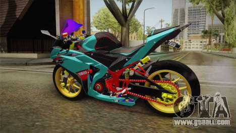 Yamaha R25 Contest for GTA San Andreas right view