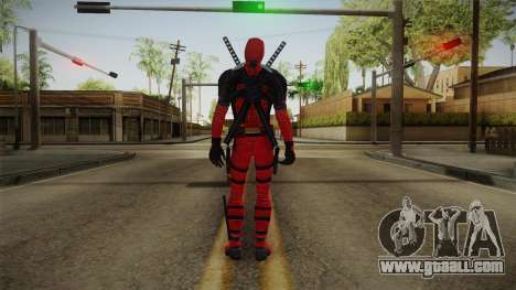 Deadpool The Movie Skin for GTA San Andreas third screenshot