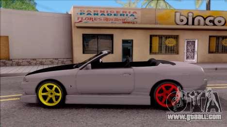 Nissan Skyline R32 Cabrio Drift Monster Energy for GTA San Andreas left view