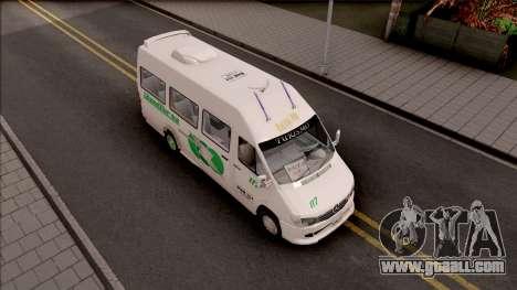 Mercedes-Benz Sprinter Renetur for GTA San Andreas right view