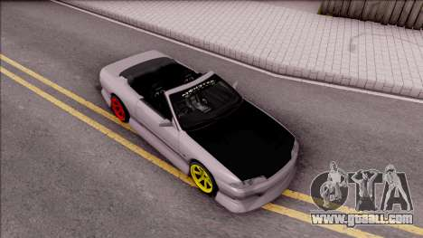 Nissan Skyline R32 Cabrio Drift Monster Energy for GTA San Andreas right view