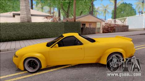 Nissan Skyline R32 Pickup Rocket Bunny for GTA San Andreas left view