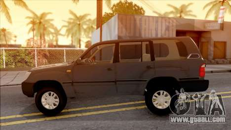 Toyota Land Cruiser 2005 for GTA San Andreas left view