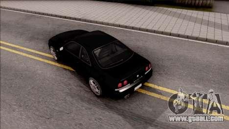 Nissan Skyline R33 for GTA San Andreas back view