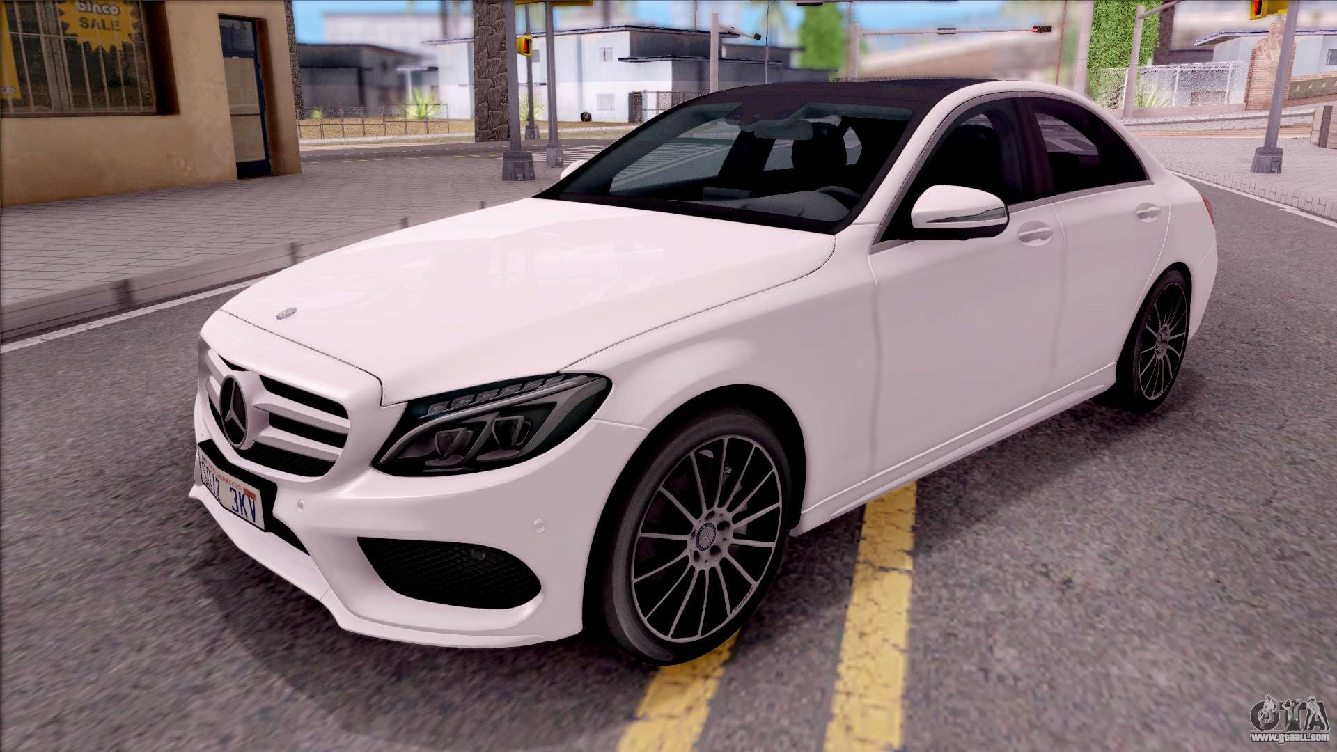 Mercedes benz c250 amg line for gta san andreas for Mercedes benz c 250