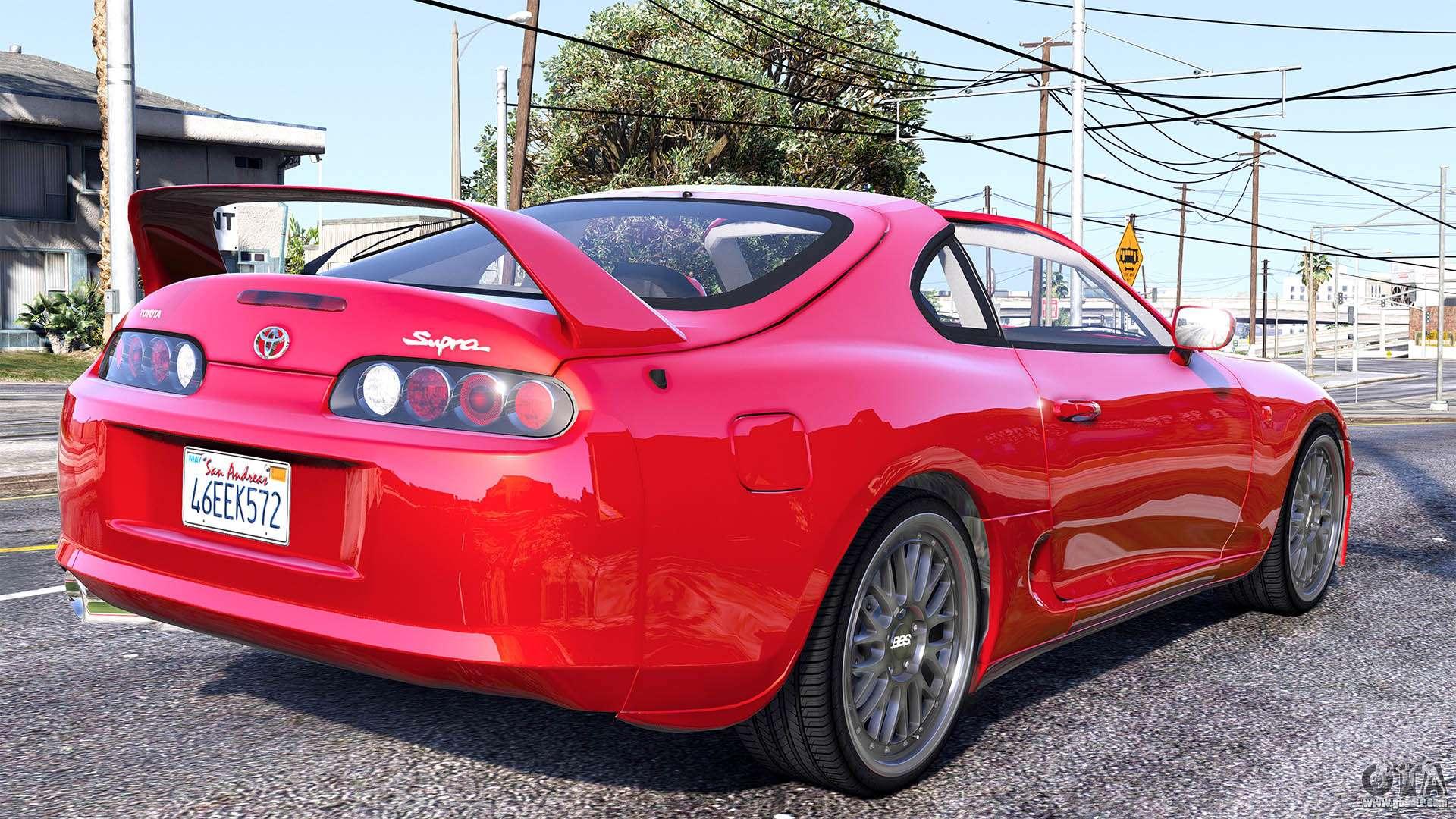 Gta 5 Toyota Supra >> Toyota Supra 1994 for GTA 5