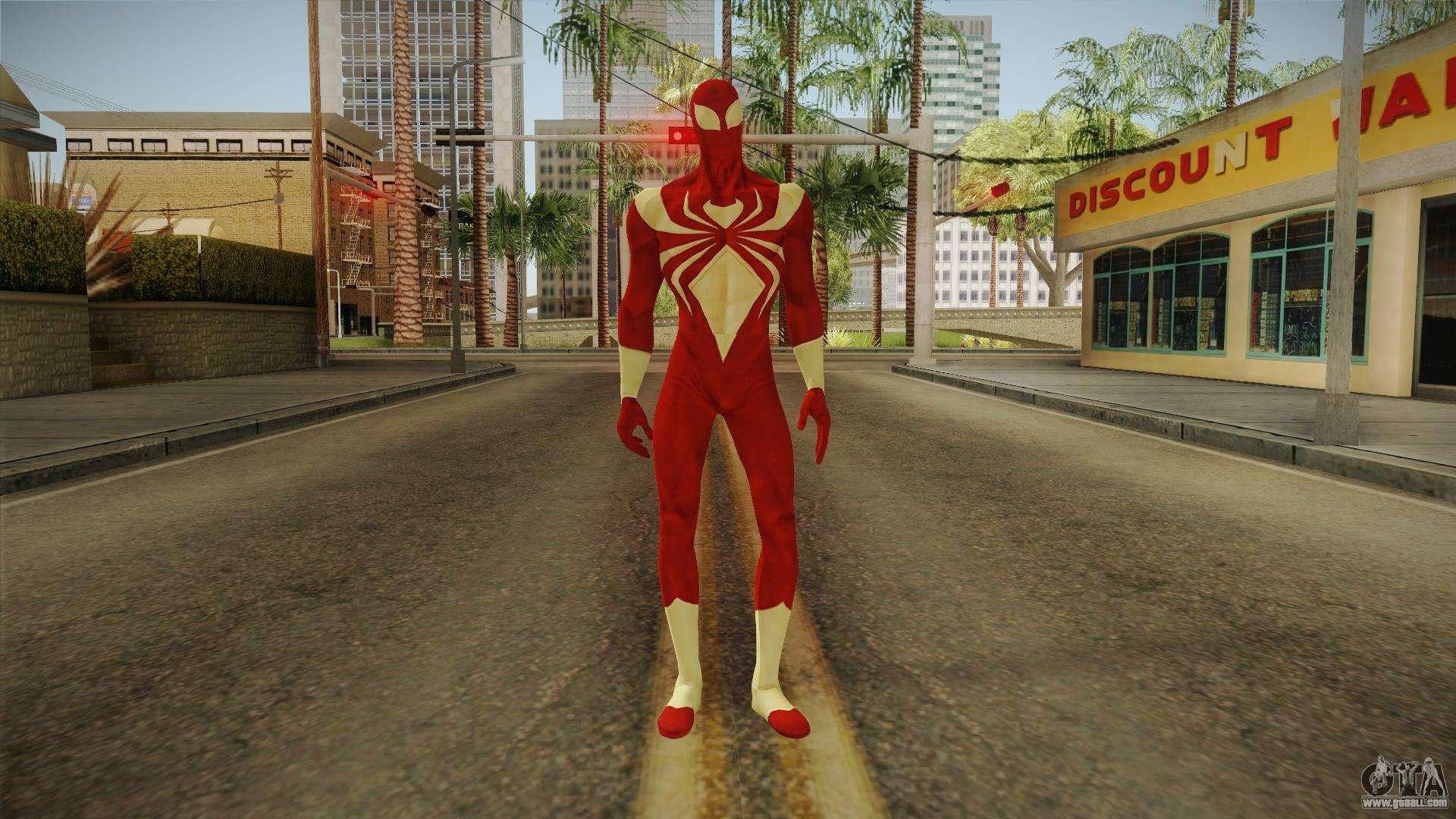 GTA San Andreas Marvel Future Fight - Iron Man (Infinity