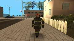 The officer of the Ministry V. 1 for GTA San Andreas