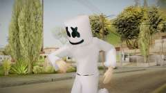 Marshmello Skin for GTA San Andreas