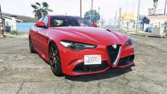 Alfa Romeo Giulia Quadrifoglio (952) [replace] for GTA 5