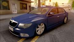 Skoda Superb 2009 for GTA San Andreas