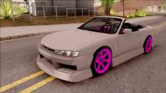 Nissan 200SX Cabrio Drift Monster Energy v2