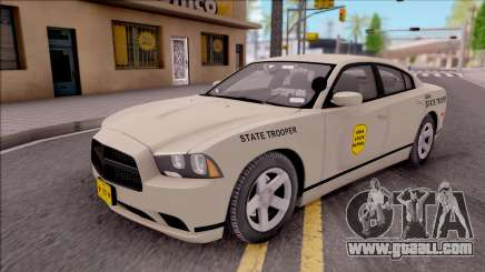 Dodge Charger Slicktop 2012 Iowa State Patrol for GTA San Andreas