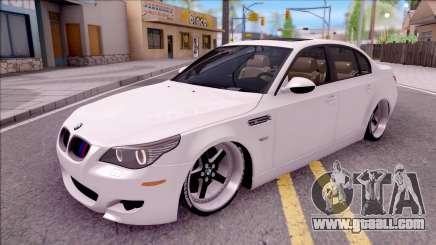 BMW M5 E60 SUCKING for GTA San Andreas