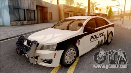 Chevrolet Caprice 2013 Los Santos PD v1 for GTA San Andreas