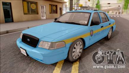 Ford Crown Victoria 2010 Iowa DOT MVE for GTA San Andreas