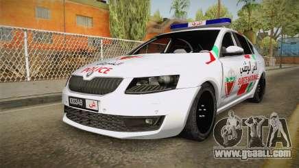 Skoda Octavia Moroccan Police for GTA San Andreas