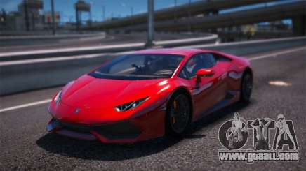 Lamborghini Huracan LP610-4 for GTA 5