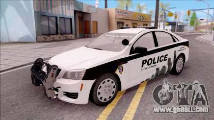 Chevrolet Caprice 2013 Los Santos PD v3 for GTA San Andreas