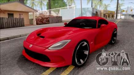 Dodge SRT Viper GTS 2012 for GTA San Andreas