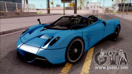 Pagani Huayra Roadster for GTA San Andreas