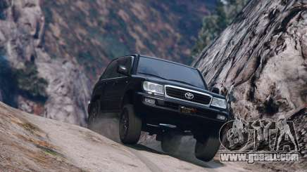 Toyota Land Cruiser 100 for GTA 5