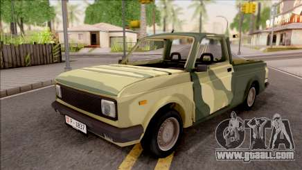 Zastava Poly 1.1 Vojni Auto for GTA San Andreas
