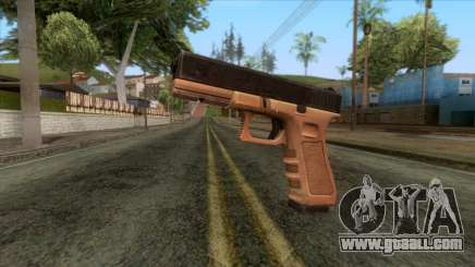 Glock 17 v1 for GTA San Andreas