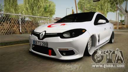 Renault Fluence PlayBoy for GTA San Andreas