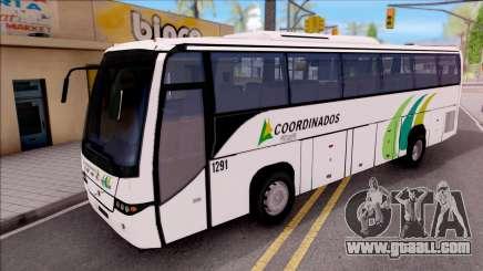 Volvo 9700 Coordinados Bus Mexico for GTA San Andreas
